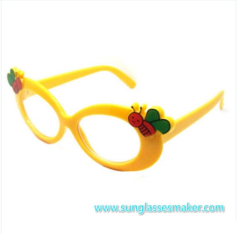 Bright Candy Color Children Eyewear Promotional Child Sunglasses