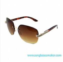 Metal Fashion Sunglasses (SZ1681)