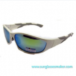 High Quality Sports Sunglasses with Yellow Frame (SZ5237